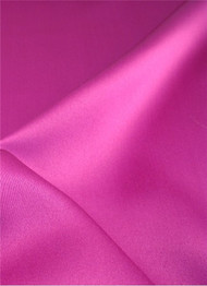 Garden Fuschia Duchess Satin Fabric
