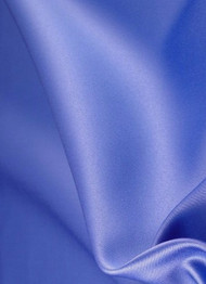 Periwinkle Duchess Satin Fabric