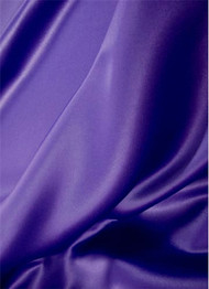 Crepe Purple Duchess Satin Fabric