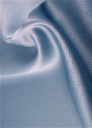 Desert Blue Duchess Satin Fabric