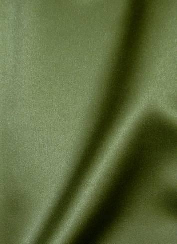 Loden Green Duchess Satin Fabric