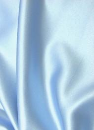 Light Blue Crepe Back Satin Fabric