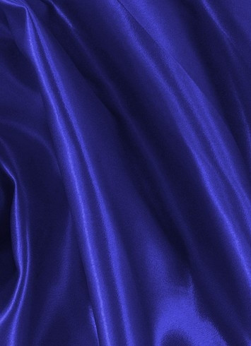 Royal Blue Crepe Back Satin Fabric
