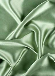Silver Sage Crepe Back Satin Fabric