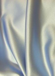 Silver Crepe Back Satin Fabric