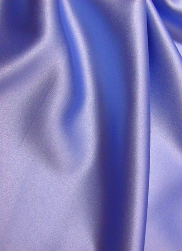 Periwinkle Crepe Back Satin Fabric