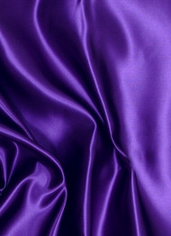 Purple Crepe Back Satin Fabric