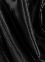 Black Crepe Back Satin Fabric