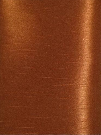 Copper Poly Shantung Fabric