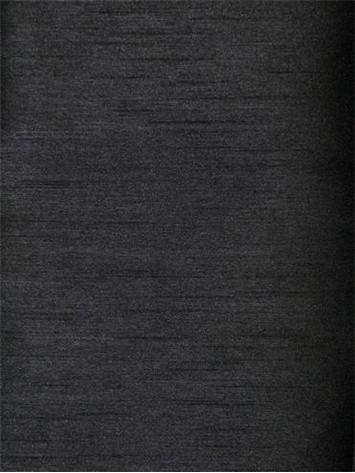 Black Poly Shantung Fabric