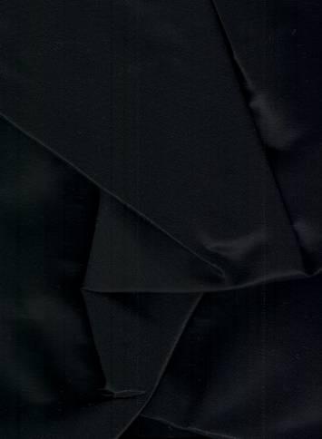 Black Iridescent Taffeta Fabric