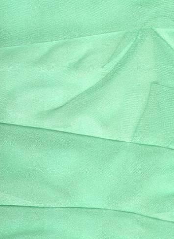 Mint Sparkle Organza Fabric