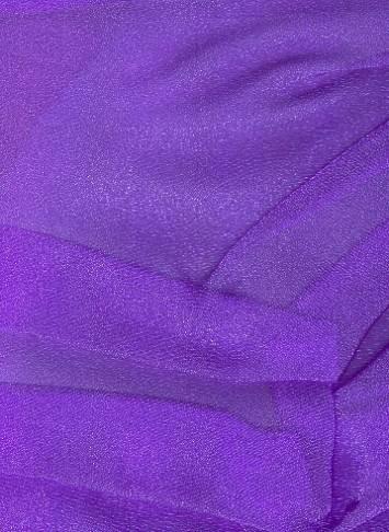 Purple Sparkle Organza Fabric