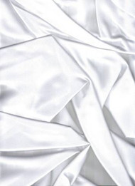 White French Satin Fabric