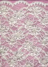 Alencon Lace BA0046WB Ivory