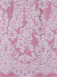 Alencon Lace ALH019C White
