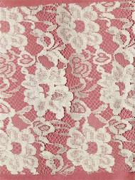 PB14024 Ivory Alencon Lace