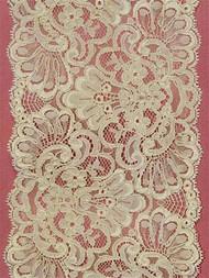 P19154 Ivory Alencon Lace Trim