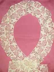 PB7983 Ivory Venice Lace Trim