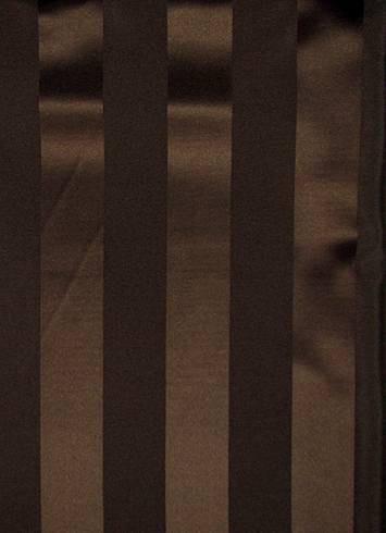 Ultra Brown Satin Stripe