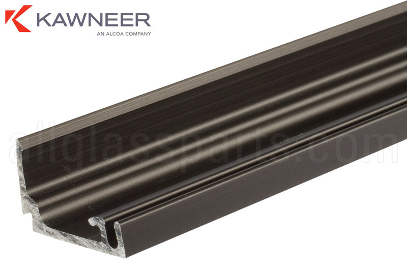 Door Stop Kawneer Bronze Anodized