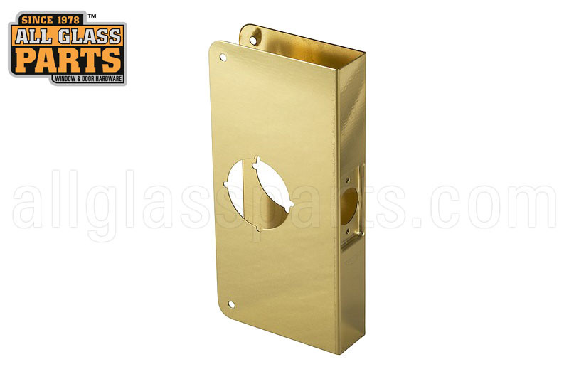 Lock Reinforcer For 1 3 8 Quot Door Reinforcement Kit Brass