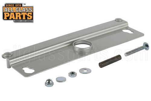 Removable Latch Lock Protector For Double Acting Doors