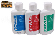 Novus 1, 2, 3 Polishing Kit (For Plastic) (2 oz.)