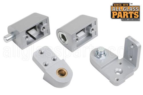 Commercial Door Pivot Set Pitco Aluminum Right