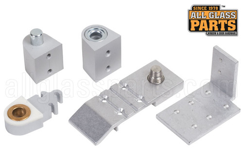 Commercial Door Pivot Set Aldora Aluminum Right