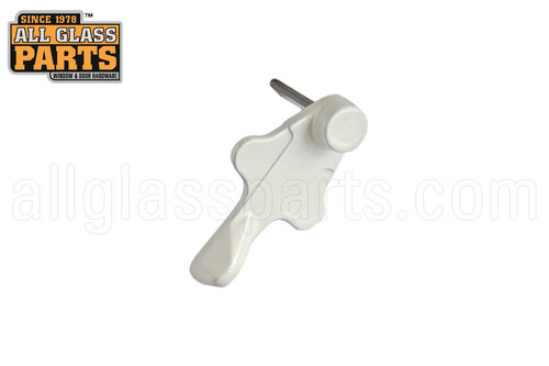 Sliding Glass Door Handle 4 Quot Hole Spacing White Thumb