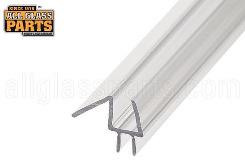 Frameless Shower Door Sweep W Splash Guard Glass