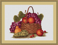 Still Life With Apples Petit Cross Stitch Kit By Luca S