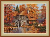 Autumn Landscape Petit Cross Stitch Kit By Luca S