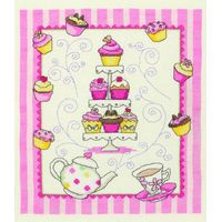 Cupcake sampler Cross Stitch Kit By Anchor