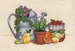 Fresh Strawberries Cross Stitch Kit by Janlynn