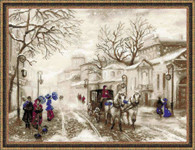 Old Street Cross Stitch Kit by Design Works
