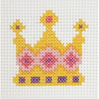 Crown Starter Cross Stitch Kit by Anchor