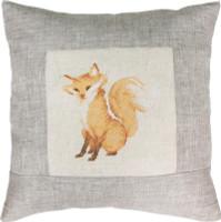 Fox Pillow Cross Stitch Kit by Luca-S