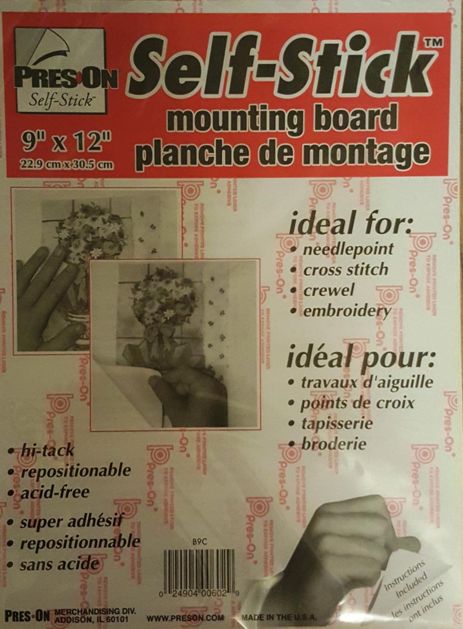 Self Adhesive Mounting Board 229 X 305cm Mariescrossstitchcouk