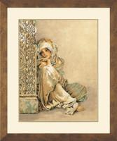 Arabian Women Cross Stitch Kit By Lanarte