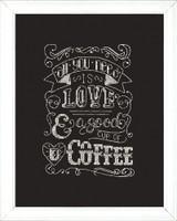 Love Chalkboard Cross Stitch Kit by Design Works