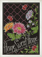Home Sweet Home Cross Stitch Kit by Design Works