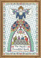 Quilt Angel Cross Stitch Kit by Design Works
