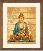 Budda Cross Stitch Kit by Lanarte