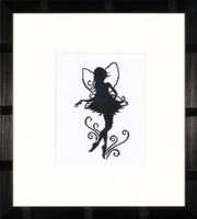 Cute Little Fairy Silhouette Cross Stitch Kit by Lanarte