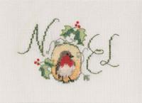 Noel Robins Cross Stitch Kit By Derwentwater
