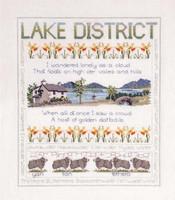 Lake District Sampler Cross Stitch Kit