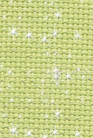 DMC Iridescent Sparkling 772 Aida Count 14 100cm x 110cm
