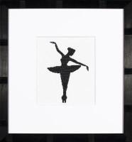 Ballet Silhouette 1 Cross Stitch Kit by Lanarte